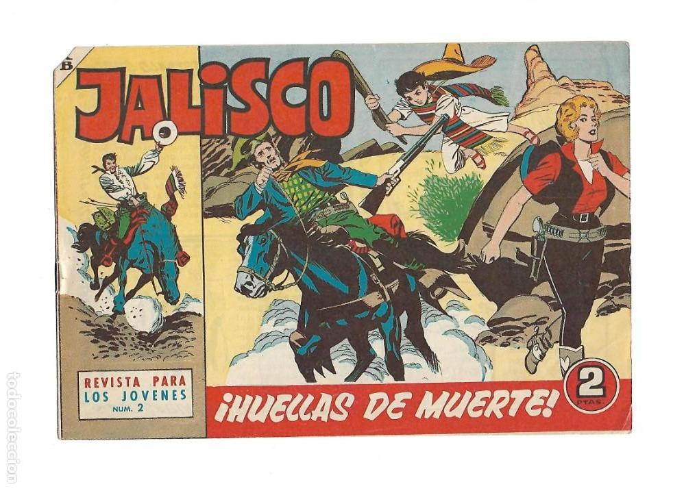 Tebeos: Jalisco, Año 1963. Colección Completa, son 20. Tebeos Originales Dibujos de José González. - Foto 4 - 155430006