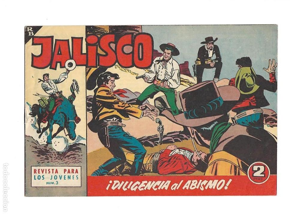 Tebeos: Jalisco, Año 1963. Colección Completa, son 20. Tebeos Originales Dibujos de José González. - Foto 5 - 155430006