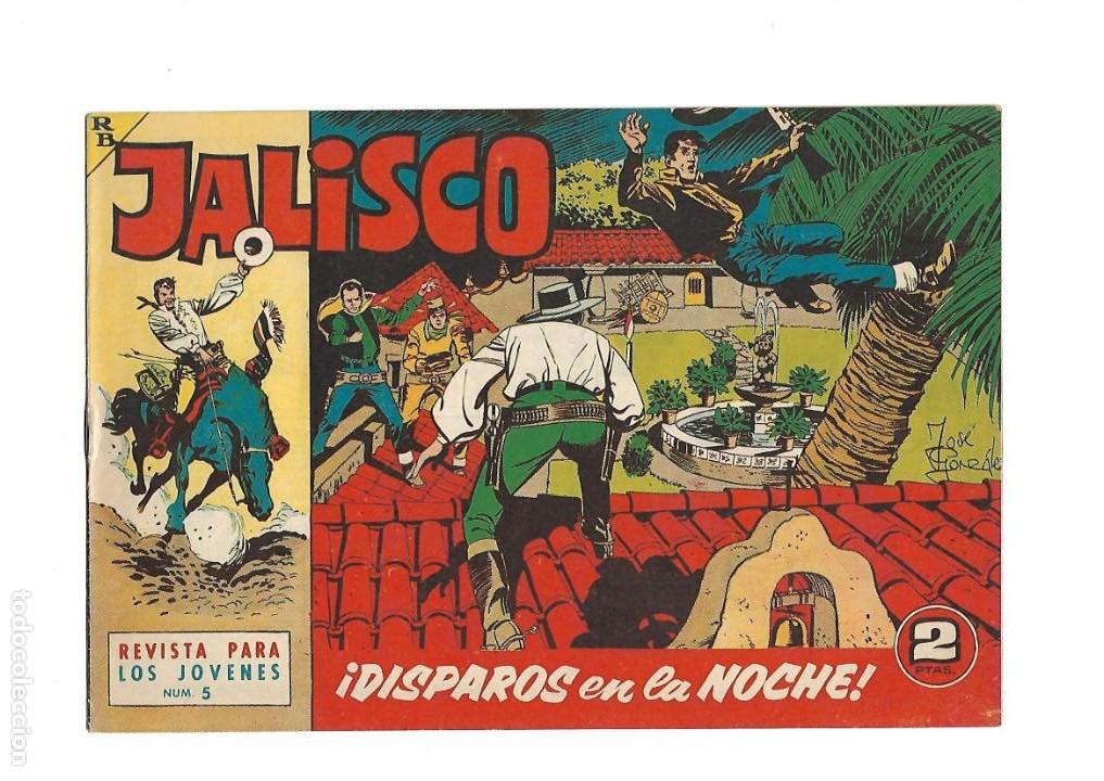 Tebeos: Jalisco, Año 1963. Colección Completa, son 20. Tebeos Originales Dibujos de José González. - Foto 7 - 155430006