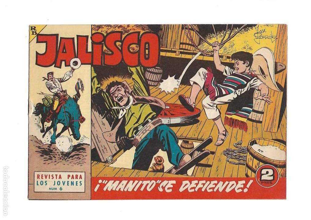 Tebeos: Jalisco, Año 1963. Colección Completa, son 20. Tebeos Originales Dibujos de José González. - Foto 8 - 155430006