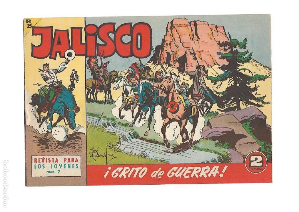 Tebeos: Jalisco, Año 1963. Colección Completa, son 20. Tebeos Originales Dibujos de José González. - Foto 9 - 155430006