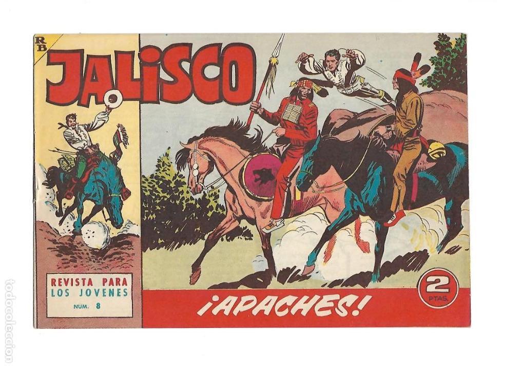 Tebeos: Jalisco, Año 1963. Colección Completa, son 20. Tebeos Originales Dibujos de José González. - Foto 10 - 155430006