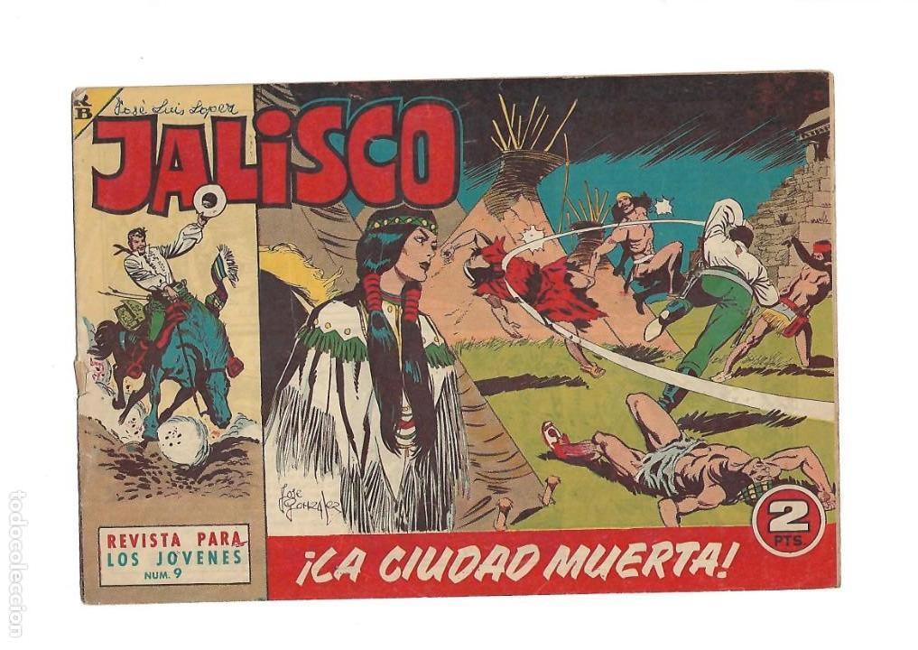 Tebeos: Jalisco, Año 1963. Colección Completa, son 20. Tebeos Originales Dibujos de José González. - Foto 11 - 155430006