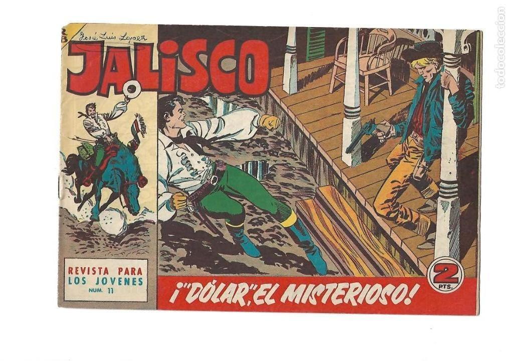 Tebeos: Jalisco, Año 1963. Colección Completa, son 20. Tebeos Originales Dibujos de José González. - Foto 13 - 155430006