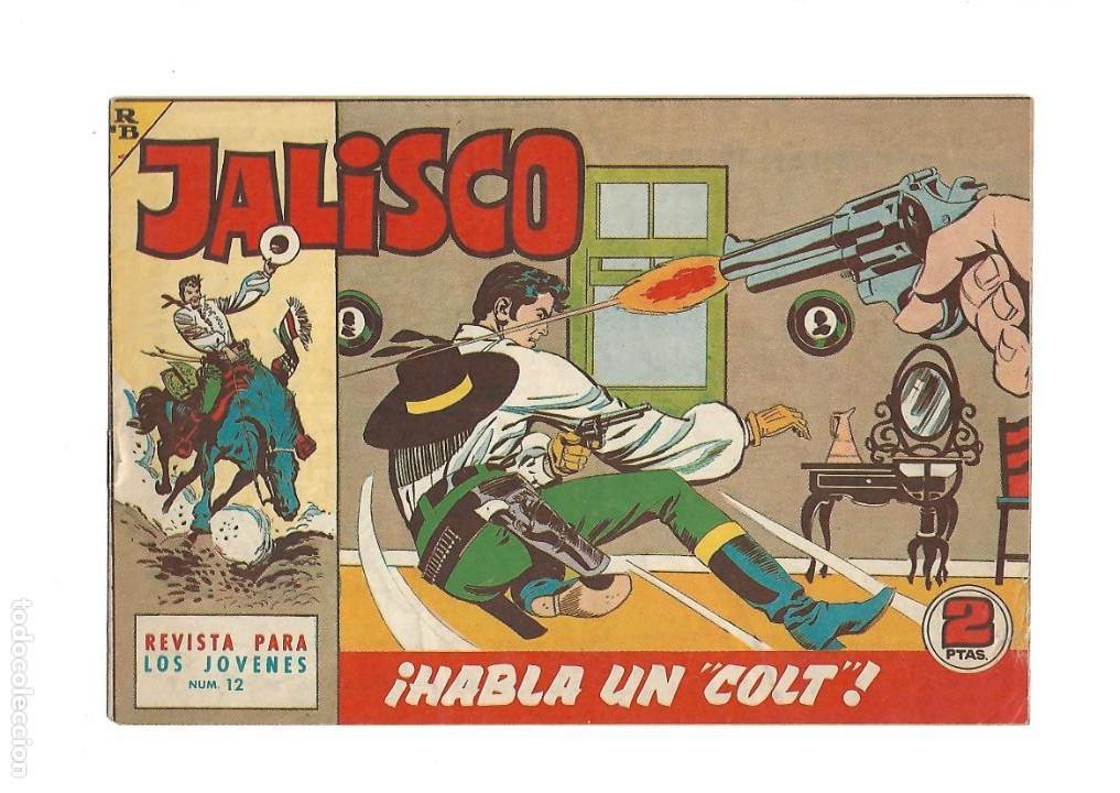 Tebeos: Jalisco, Año 1963. Colección Completa, son 20. Tebeos Originales Dibujos de José González. - Foto 14 - 155430006