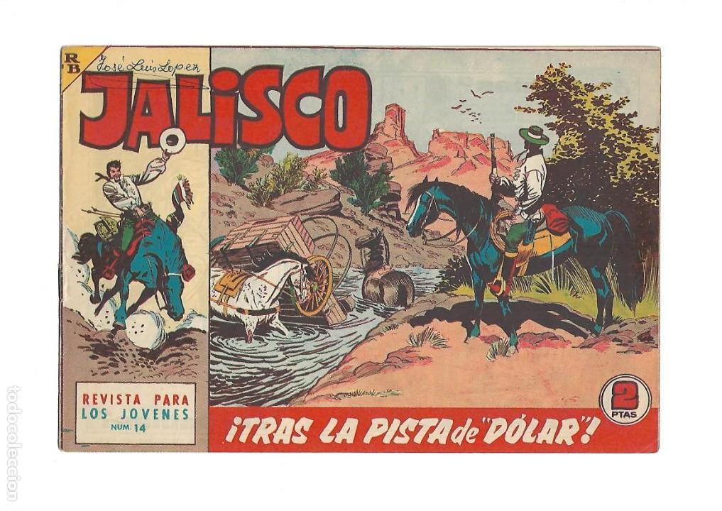 Tebeos: Jalisco, Año 1963. Colección Completa, son 20. Tebeos Originales Dibujos de José González. - Foto 16 - 155430006