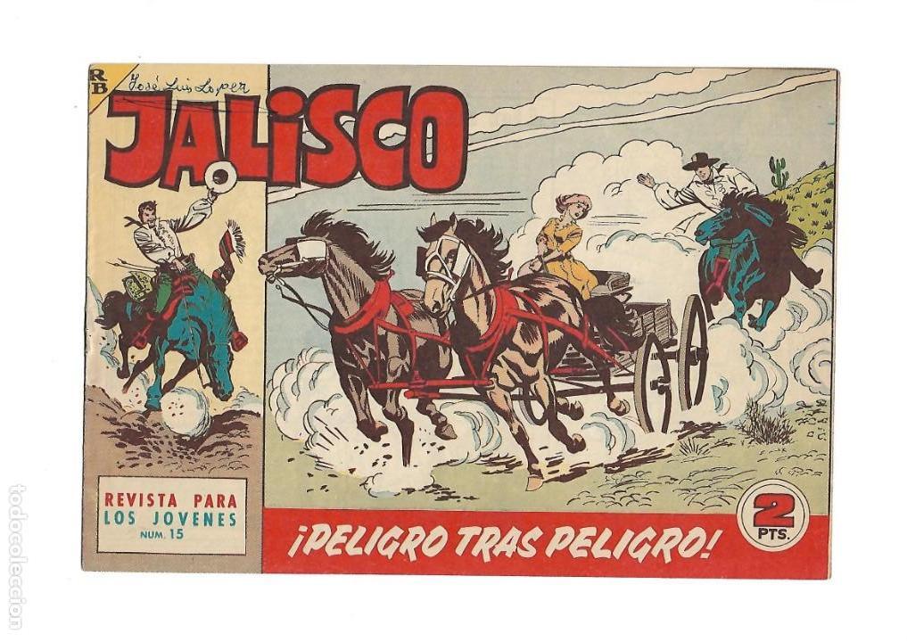 Tebeos: Jalisco, Año 1963. Colección Completa, son 20. Tebeos Originales Dibujos de José González. - Foto 17 - 155430006