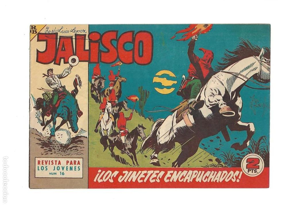 Tebeos: Jalisco, Año 1963. Colección Completa, son 20. Tebeos Originales Dibujos de José González. - Foto 18 - 155430006