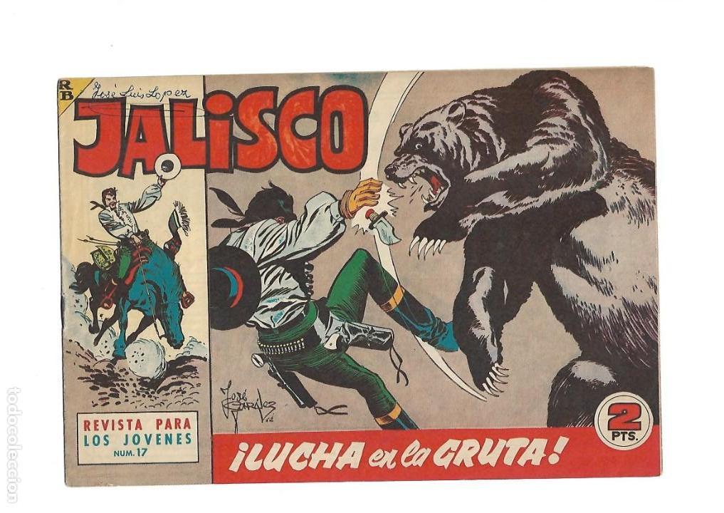 Tebeos: Jalisco, Año 1963. Colección Completa, son 20. Tebeos Originales Dibujos de José González. - Foto 19 - 155430006