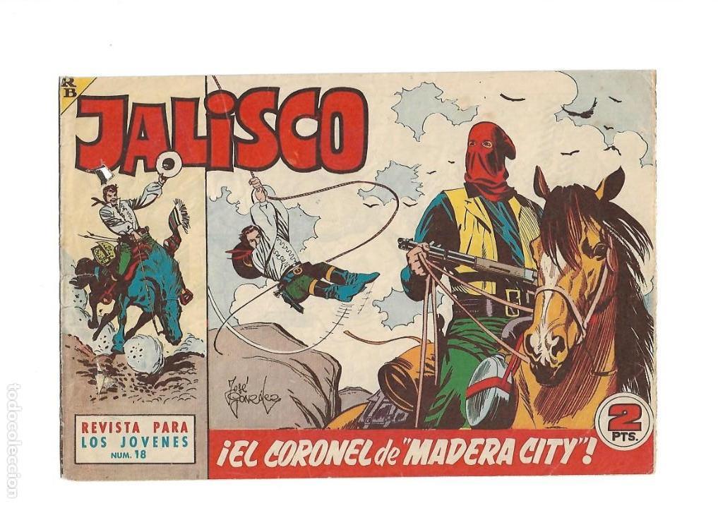 Tebeos: Jalisco, Año 1963. Colección Completa, son 20. Tebeos Originales Dibujos de José González. - Foto 20 - 155430006