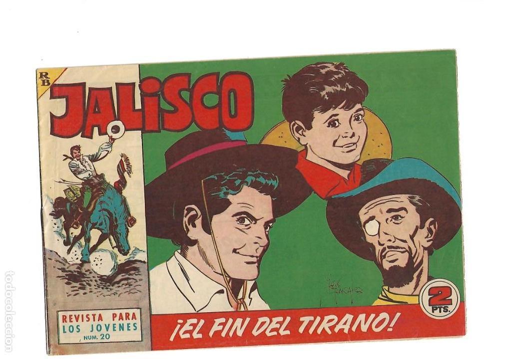 Tebeos: Jalisco, Año 1963. Colección Completa, son 20. Tebeos Originales Dibujos de José González. - Foto 22 - 155430006