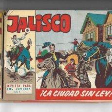 Tebeos: JALISCO, AÑO 1963. COLECCIÓN COMPLETA, SON 20. TEBEOS ORIGINALES DIBUJOS DE JOSÉ GONZÁLEZ.. Lote 155430006