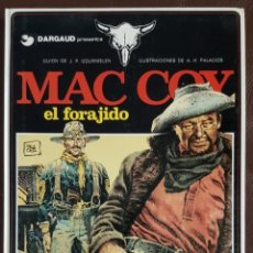 Tebeos: MAC COY - EL FORAJIDO, Nº 12, GRIJALBO/ DRAGAUD. Lote 155565830