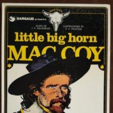 Tebeos: MAC COY - LTTLE BIG HORN, Nº 8, GRIJALBO/ DRAGAUD. Lote 155566238