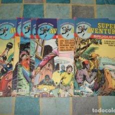Tebeos: SUPER AVENTURAS, 1978, COMPLETA, 8 NÚMEROS, BRUGUERA, MUY BUEN ESTADO. Lote 155754642