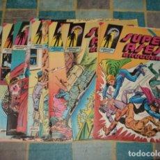 Tebeos: SUPER ASES BRUGUERA, 1978, COMPLETA, 9 NÚMEROS, MUY BUEN ESTADO. Lote 155755034