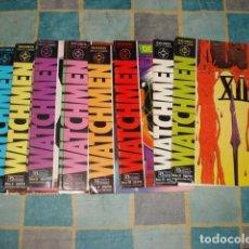Tebeos: WATCHMEN, 1987, COMPLETA, 12 NÚMEROS, PRIMERA EDICIÓN, ZINCO, BUEN ESTADO. Lote 155755734