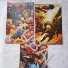 Tebeos: TUBAL LOTAZO 3 COMICS SUPERMAN VS BATMAN. Lote 174120332