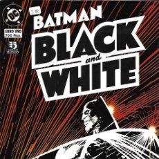 Tebeos: BATMAN: BLACK & WHITE. ZINCO 1996. COLECCIÓN COMPLETA (2 EJEMPLARES). Lote 156845580