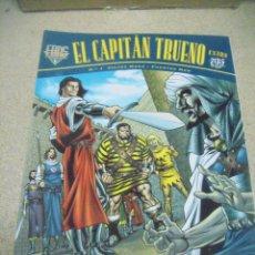 Tebeos: EL CAPITÁN TRUENO EXTRA FANS Nº 1 AL 24 - ED. B. Lote 156860762