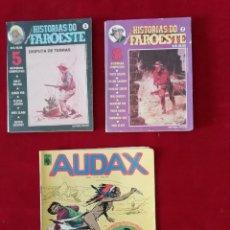 Tebeos: HISTÓRIAS DO FAROESTE. Nº 2 E 3-1980. ED: VECCHI + AUDAX 1976. Lote 157324402