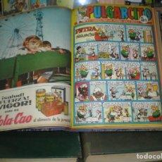 Tebeos: GRAN LOTE DE TEBEOS DEL PULGARCITO 19 TOMOS. Lote 157715382