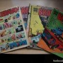 Tebeos: BRAVO - LOTE DE 6 NÚMEROS - 10, 20, 25, 25, 32, 43 - BRUGUERA. Lote 158961670