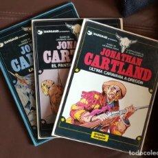 Tebeos: 3 TOMOS DE JONATHAN CARTLAND, NºS; 1 (1983), 2 (1984) Y 3 (1985) - GRIJALBO/DARGAUD. Lote 159036430