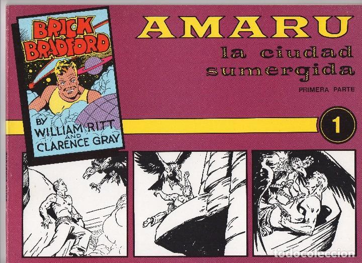 BRICK BRADFORD POR WILLIAM RITT Y CLARENCE GRAY 10 NÚMEROS PUBLICADOS POR JOAQUIN ESTEVE (Tebeos y Comics - Tebeos Colecciones y Lotes Avanzados)