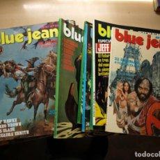 Tebeos: BLUE JEANS Y SUPER BLUE JEANS - LOTE DE 18 NÚMEROS - VER NÚMEROS Y PORTADAS - SE VENDEN SUELTOS. Lote 159789654