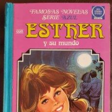 Tebeos: FAMOSAS NOVELAS SERIE AZUL ESTHER -TOMO 7- (1981) JOYAS LITERARIAS JUVENILES, BRUGUERA. Lote 159837878