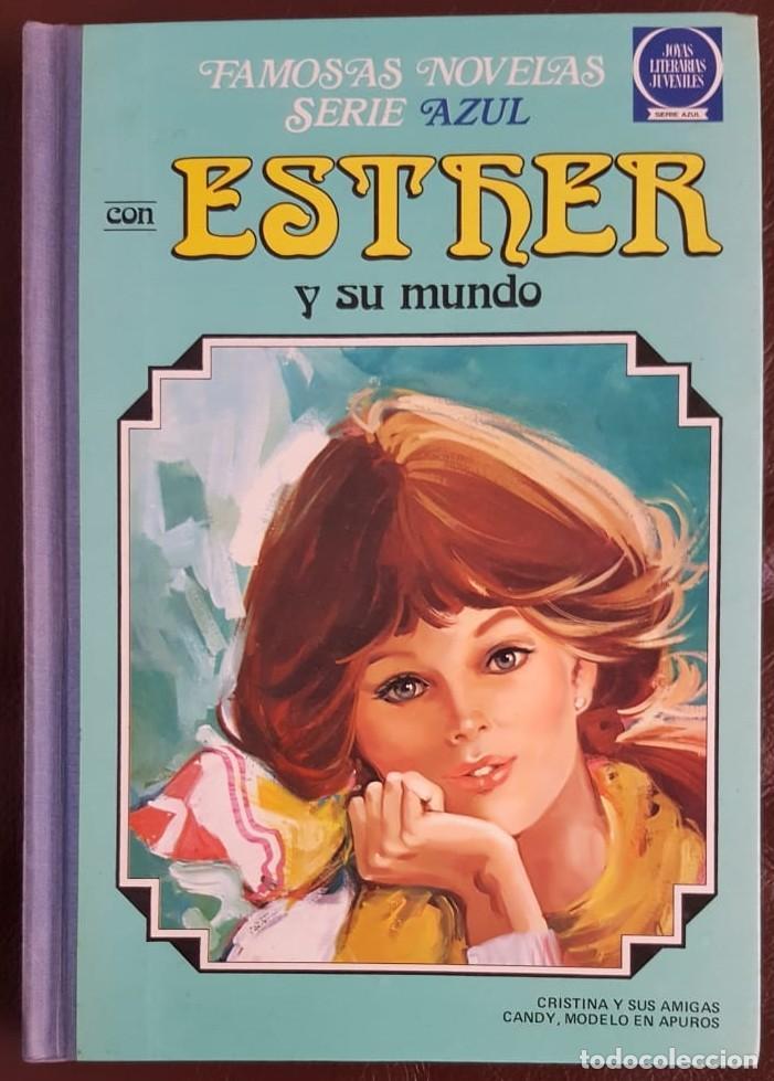 FAMOSAS NOVELAS SERIE AZUL ESTHER Y SU MUNDO -TOMO 3- (1981) JOYAS LITERARIAS JUVENILES, BRUGUERA (Tebeos y Comics - Tebeos Colecciones y Lotes Avanzados)