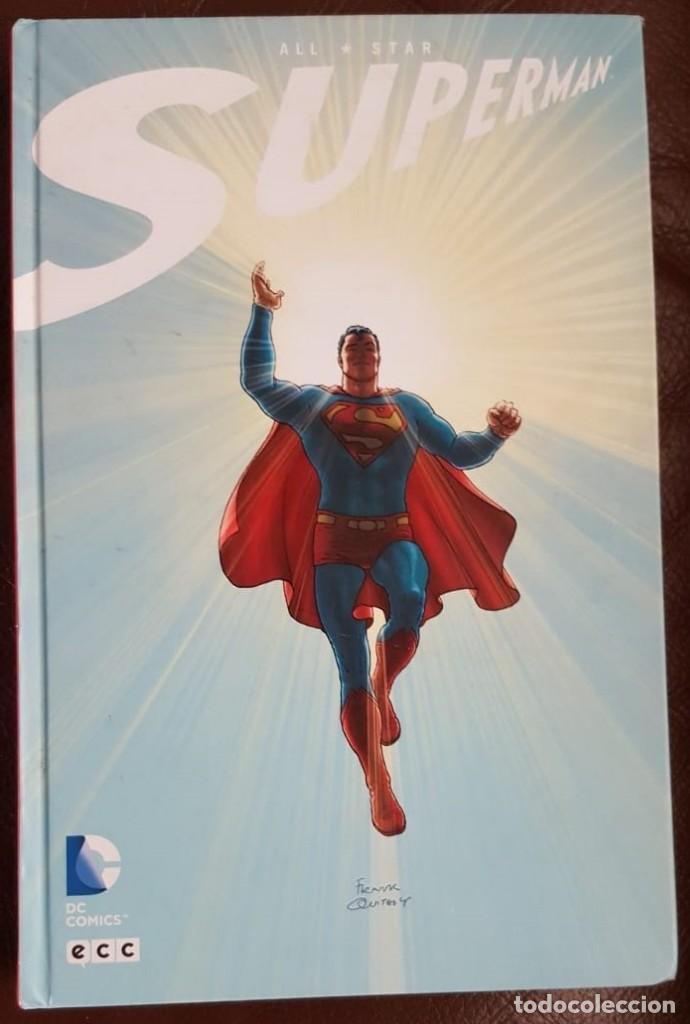 Tebeos: SUPERMAN. ALL STAR, -ECC (2013) - ( 328 PG), PREMIO EISNER, - VER FOTOS Y DESCRIPCIÓN -DESCATALOGADO - Foto 2 - 159839682