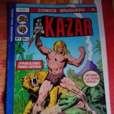 Tebeos: KAZAR EDITORIAL BRUGUERA COMPLETA 1978, 7 NÚMEROS . Lote 160510514