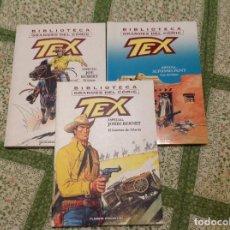 Tebeos: TEX TEXONE COMPLETA TRES NUMEROS.. Lote 160514042