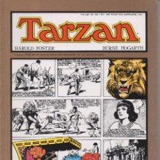 Tebeos: TARZAN POR BURNE HOGARTH COLECCIÓN COMPLETA DE LOS 8 NÚMEROS PUBLICADOS POR JOAQUÍN ESTEVE . Lote 160935630