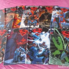 Tebeos: SUPERMAN BATMAN 1 2 3 4 7 8 12 13 14 15 16 17 - DE 18 COMPLETA PLANETA C31. Lote 161105434