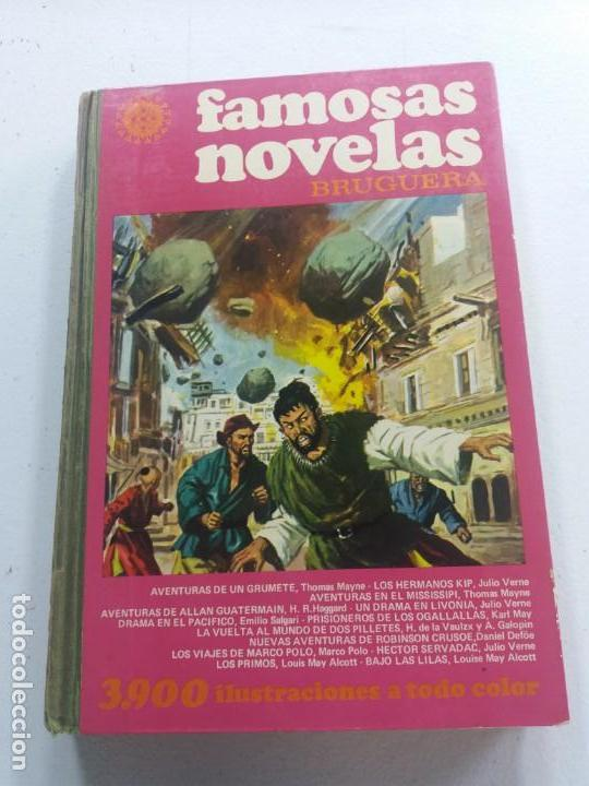 ac267ae84 FAMOSAS NOVELAS BRUGUERA-TOMO XIII-1ª EDICIÓN