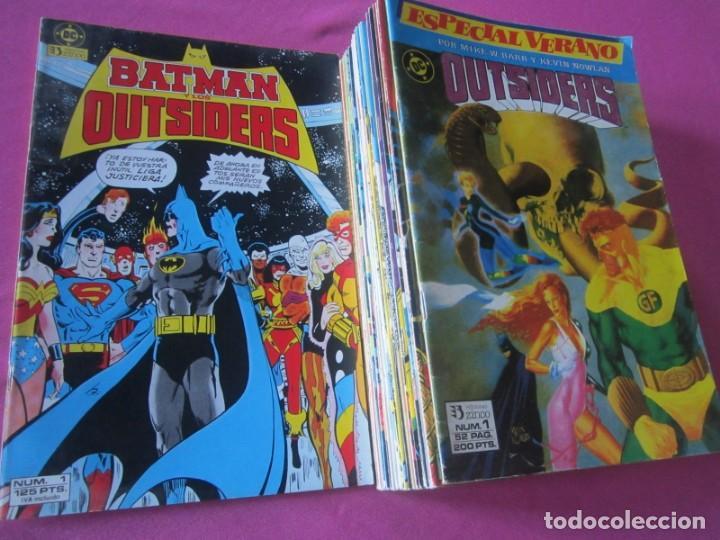 BATMAN Y LOS OUTSIDERS 26 COMPLETA + ESPECIAL ZINCO (Tebeos y Comics - Tebeos Colecciones y Lotes Avanzados)