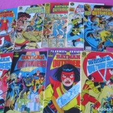 Tebeos: BATMAN Y LOS OUTSIDERS 3 6 8 9 10 11 12 15 16 ZINCO. Lote 162308810