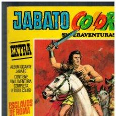 Tebeos: JABATO COLOR EXTRA -TERCERA ÉPOCA - LOTE DE 11 EJEMPLARES DE 12. BRUGUERA,1978. . Lote 162386098