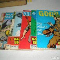 Livros de Banda Desenhada: LOTE DE HAZAÑAS BELICAS GORILA. Lote 162470878