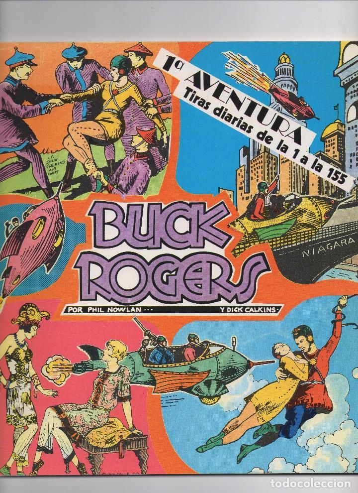 BUCK ROGERS POR PHIL NOWLAN Y DICK CALKINS COLECCIÓN COMPLETA DE LOS 5 NÚMEROS PUBLICADOS POR ESTEVE (Tebeos y Comics - Tebeos Colecciones y Lotes Avanzados)