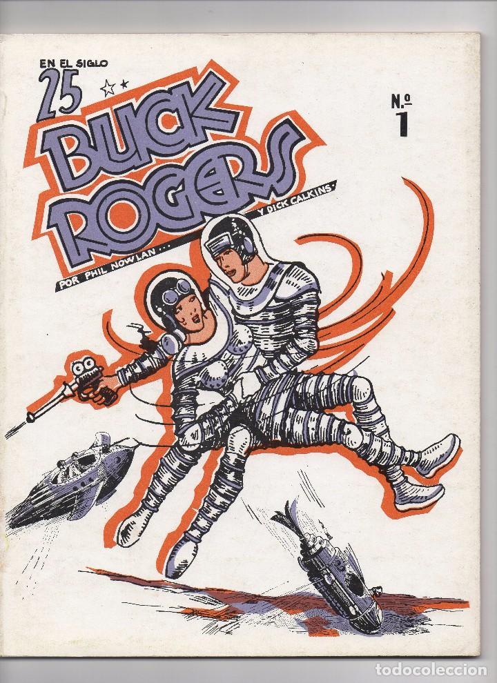 Tebeos: BUCK ROGERS por Phil Nowlan y Dick Calkins Colección completa de los 5 números publicados por Esteve - Foto 2 - 178761212