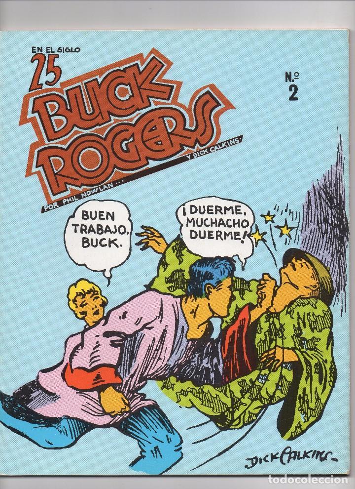 Tebeos: BUCK ROGERS por Phil Nowlan y Dick Calkins Colección completa de los 5 números publicados por Esteve - Foto 3 - 178761212