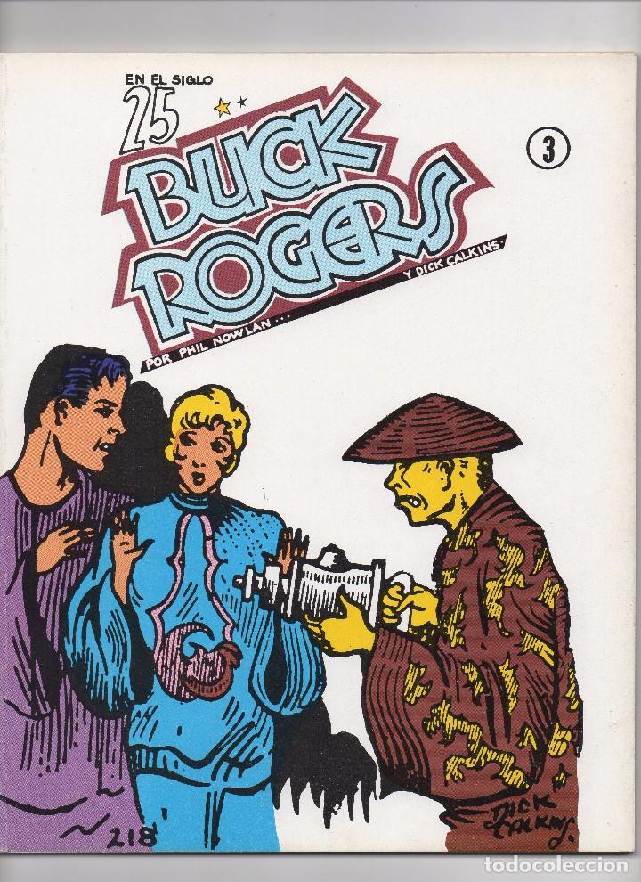Tebeos: BUCK ROGERS por Phil Nowlan y Dick Calkins Colección completa de los 5 números publicados por Esteve - Foto 4 - 178761212