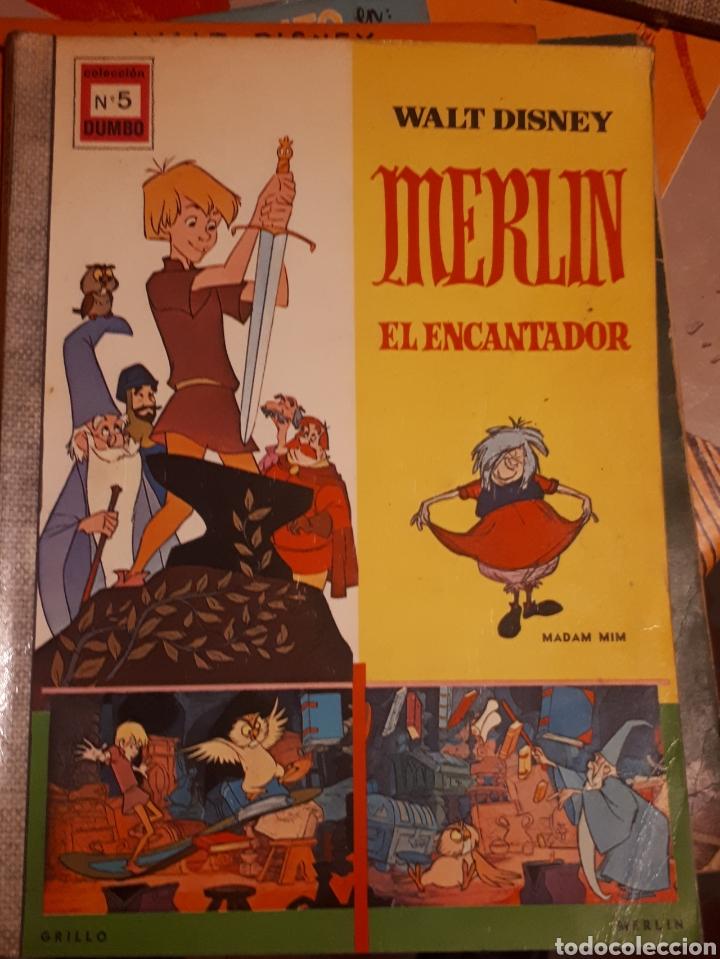 Tebeos: Especiales coleccion Dumbo Peter Pan..Merlín...El libro de la selva....20.000 leguas de viaje submar - Foto 2 - 163481974