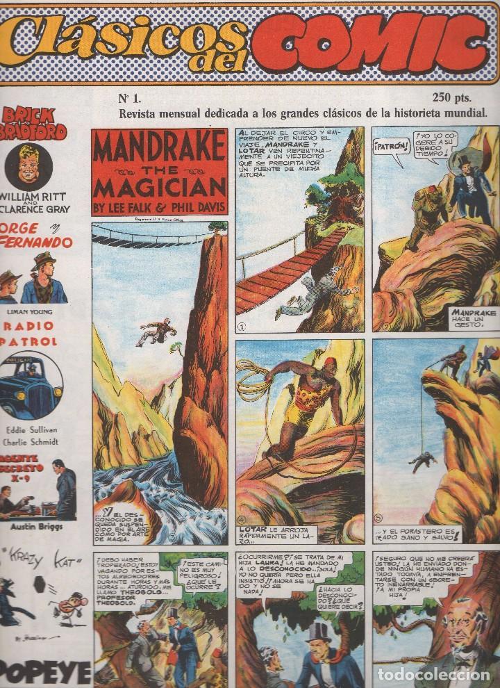 Tebeos: CLASICOS DEL COMIC colección completa de los 13 números publicados por Editorial Complot en 1.988 - Foto 13 - 163927362