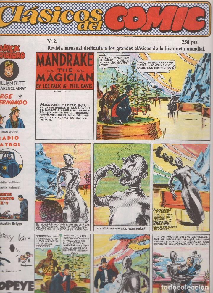 CLASICOS DEL COMIC COLECCIÓN COMPLETA DE LOS 13 NÚMEROS PUBLICADOS POR EDITORIAL COMPLOT EN 1.988 (Tebeos y Comics - Tebeos Colecciones y Lotes Avanzados)