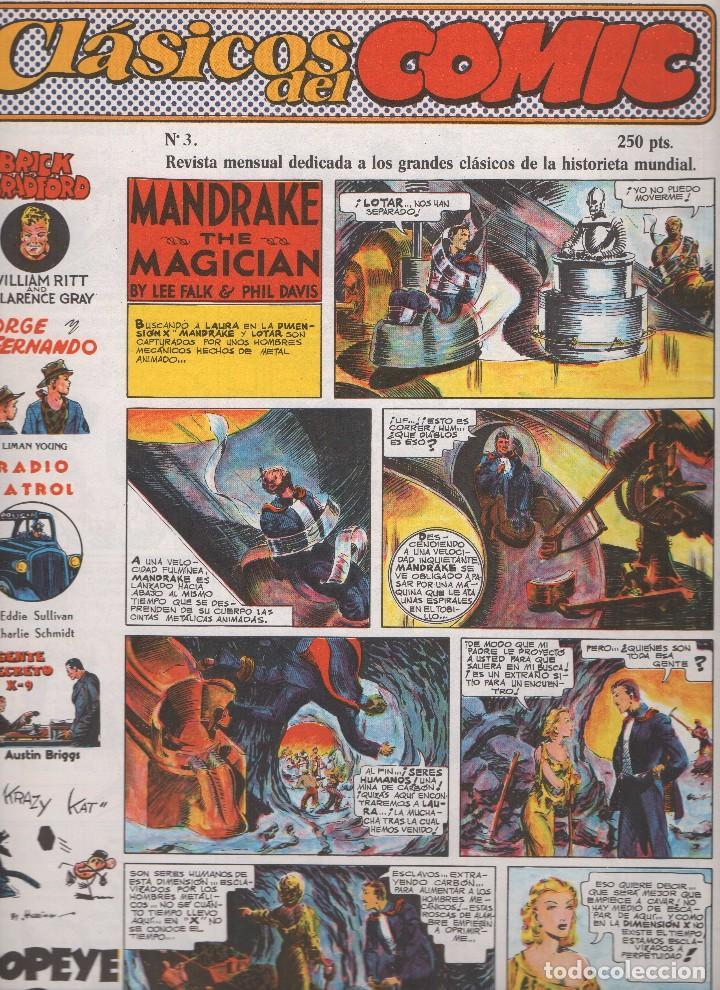 Tebeos: CLASICOS DEL COMIC colección completa de los 13 números publicados por Editorial Complot en 1.988 - Foto 3 - 163927362